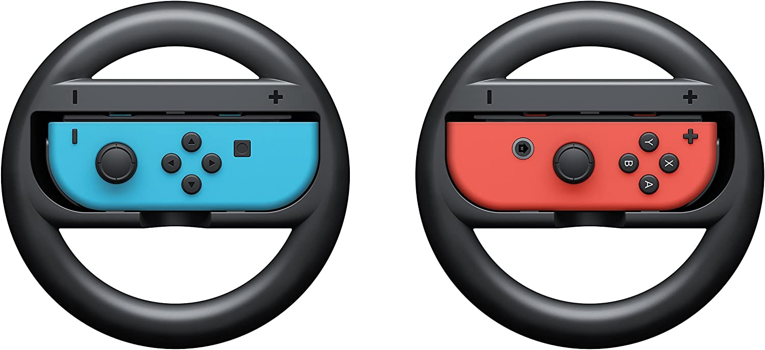 Nintendo Joy Con Wheel Set Of 2 Switch This Makes For Great Handling And Steering Control But It Also Means Video Games