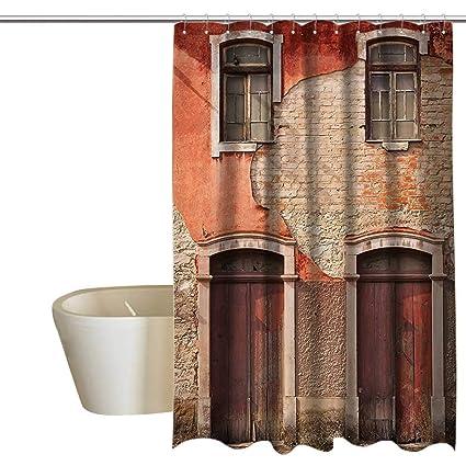 Amazon com: Rustic Decor Collection Mold Resistant Fabric
