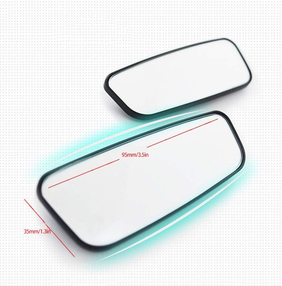 Heaviesk 1 para Auto Blinden Winkel Spiegel Auto R/ückspiegel Einstellbare Weitwinkel R/ückspiegel f/ür Universalfahrzeuge Auto