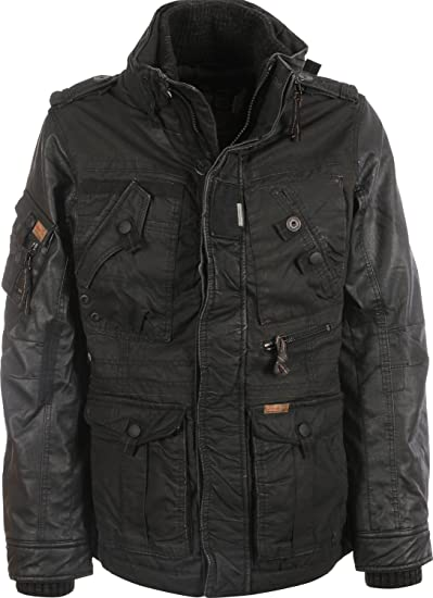 Fake Khujo Leather Tomboy Winter Mix Jacke 201415 Herren Herbst wmOvnyN80
