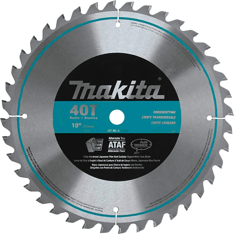 "Circular Saw Blade 10/"" 5//8/"" 1 pc 40T Carbide Tipped for DeWalt SKIL /& Makita"