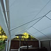 Amazon Com Abba Patio 12 X 20 Feet Heavy Duty Carport