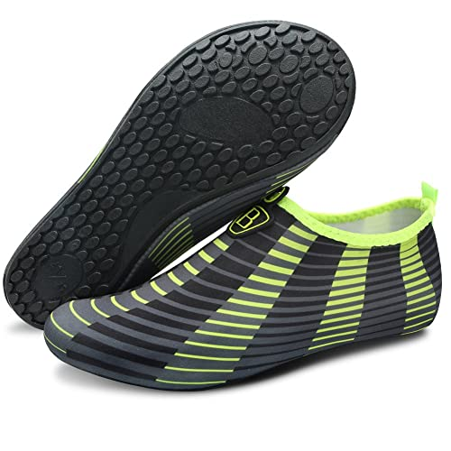 098aa4189c51 Barerun Women Men Swim Water Shoes Barefoot Aqua Socks Shoes for Beach Pool  Surfing Yoga Yellow