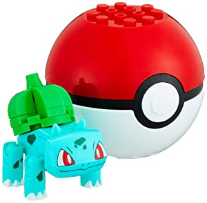 Mega Construx Pokemon Bulbasaur Figure