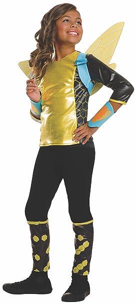 Rubies Costume Kids Dc Superhero Girls Deluxe Bumblebee Costume