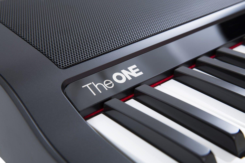 The ONE Smart Piano 61-Key Portable Light Keyboard, USB MIDI Electronic Keyboard Piano - Onyx Black by The ONE Smart Piano (Image #5)