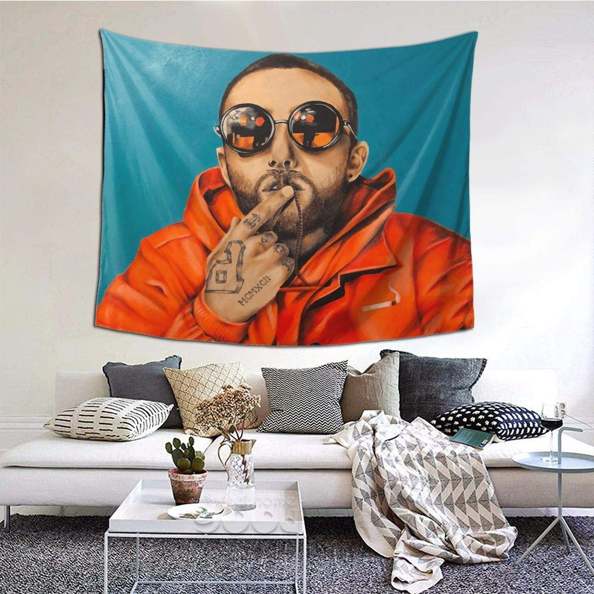 Feiteng MA-C Miller Tapestry Living Room Bedroom Home Decor Tapestries Art Wall Hanging Blanket 60x51in