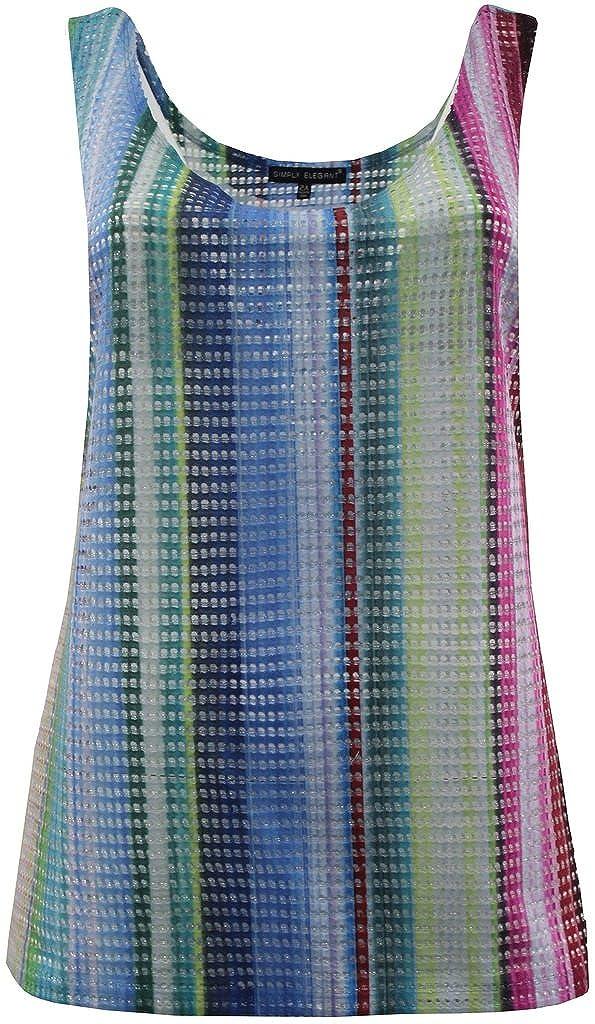 Women's Plus-Size Sleeveless Tank Top Spring Summer Fashion Clothing