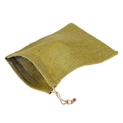 Amazon.com: Cordón bolsa de yute (10 x 7.25in; Verde): Toys ...