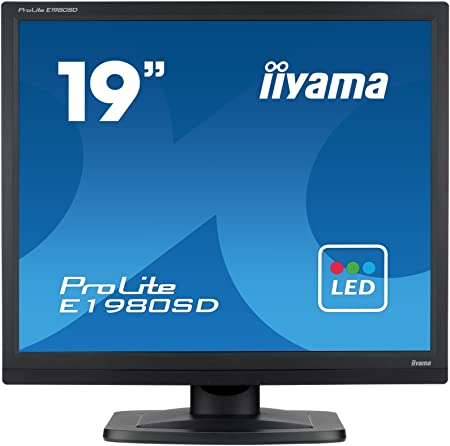 Iiyama Prolite E1980sd B1 48cm Led Monitor Sxga Computer Zubehör