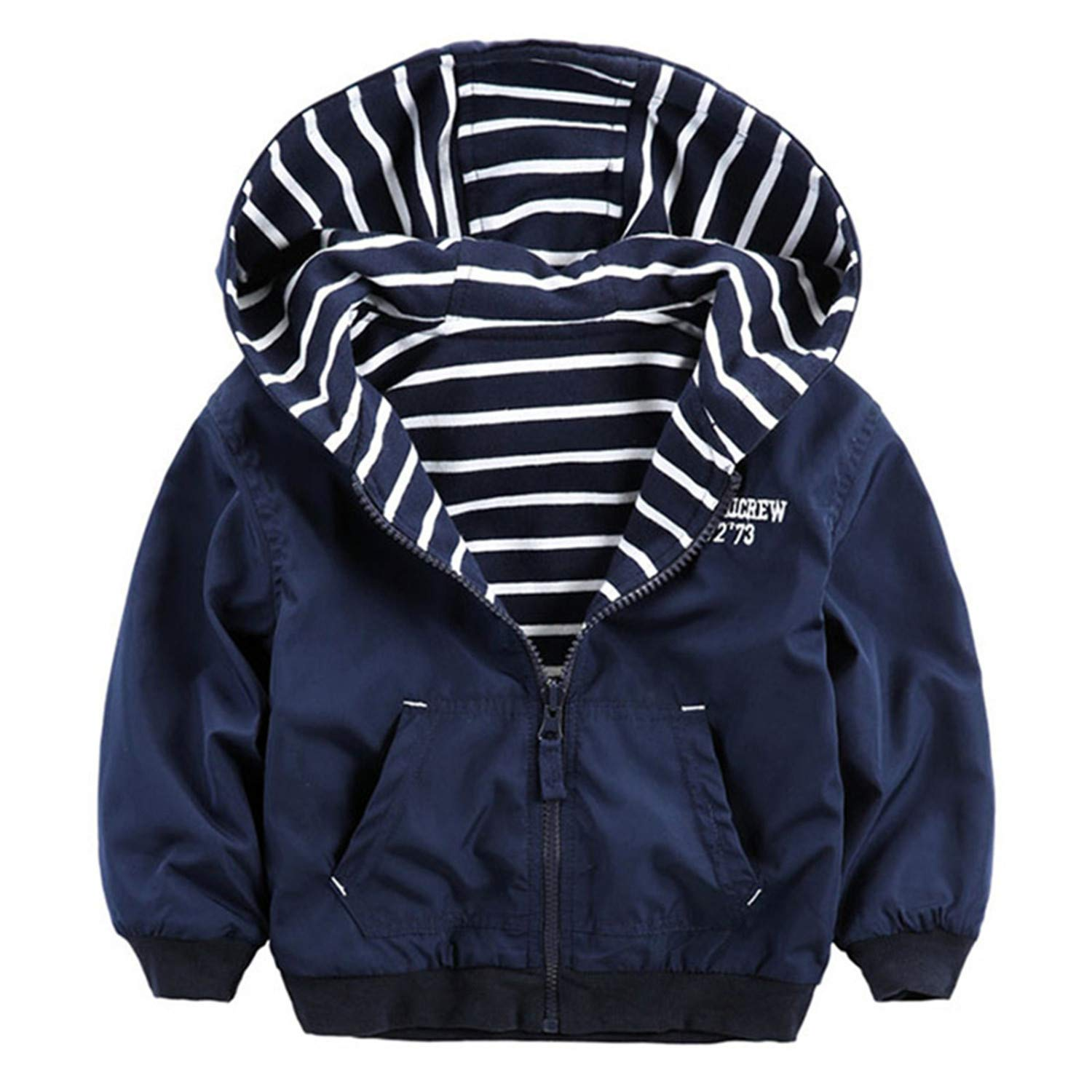 a4a89ac19b13 Amazon.com  Double-Sided Clothes Boys Windbreaker Kids Outerwear ...