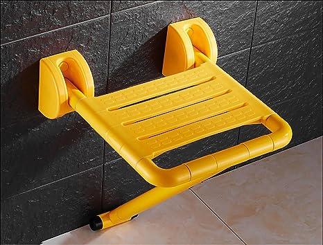 Aiuti alla mobilità per la stanza da bagno sgabello pieghevole a