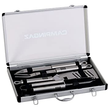Campingaz 205828 - Maletín con 5 utensilios de acero ...