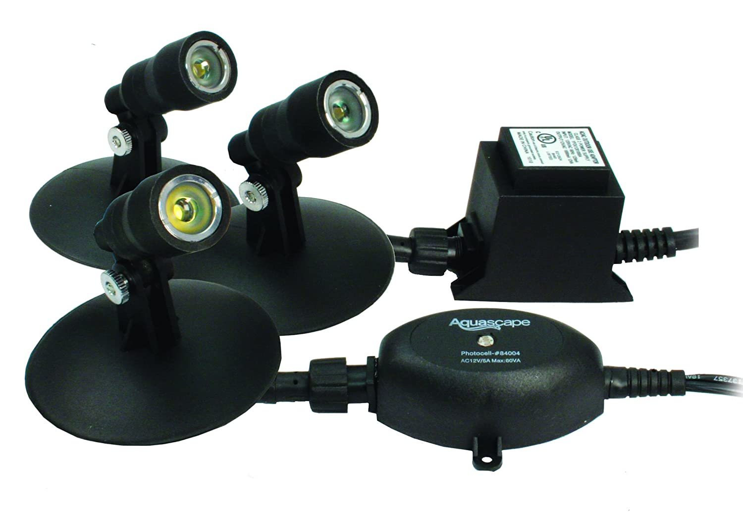 Amazon.com : Aquascape LED 3 Light Kit for Pond Landscaping and ...