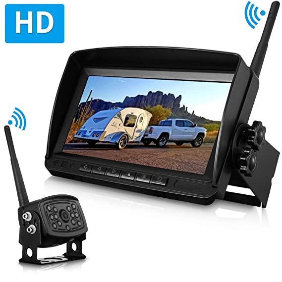 Wireless Backup Camera >> Rohent Digital Wireless Backup Camera High Speed Observation System For Car Pickup Rv Truck Trailer Camper 5th Wheel With 7 Hd Monitor Ip69k