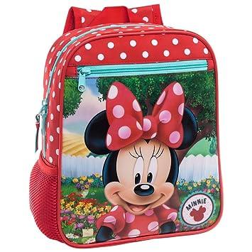 Disney 44221A1 Minnie Garden Mochila Infantil, 6.44 litros, Color Rojo: Amazon.es: Equipaje