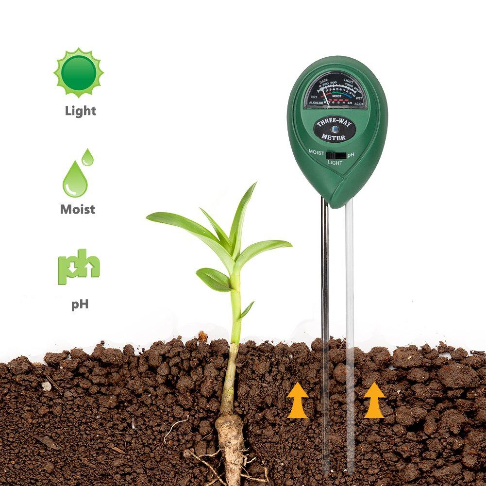 Coquimbo  Planta Kit de probador de suelo medidor de humedad luz
