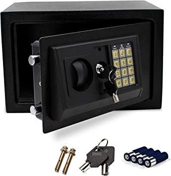 wolketon - Caja Fuerte electrónica con Cerradura de combinación 31 ...