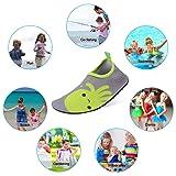 KUNSHOP Kids Water Shoes Toddler Swim Barefoot Aqua
