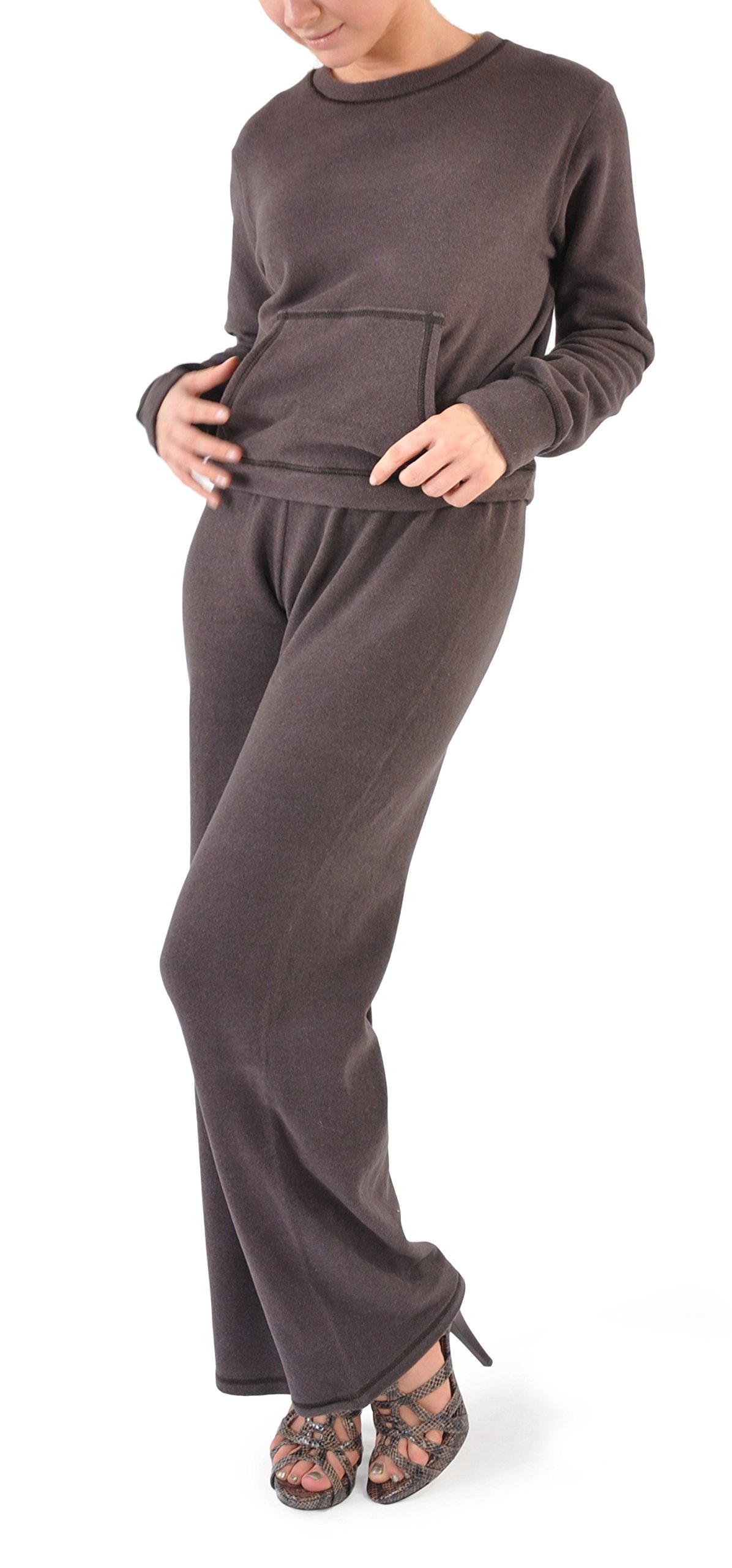 Zimmerli Luxury Loungewear/Warm Ups - X-Large/Chocolate