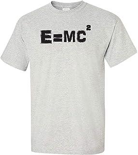 d133e8a69 Albert Einstein E=MC2 Equation Adult T-Shirt