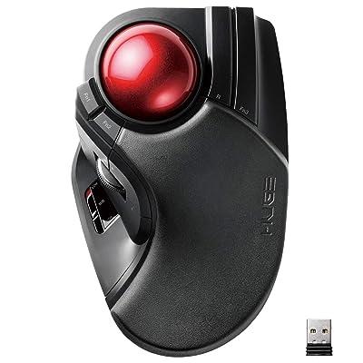 【過去最安値】エレコム ワイヤレストラックボールマウス M-HT1DRXBK 送料込3,599円【9日まで】