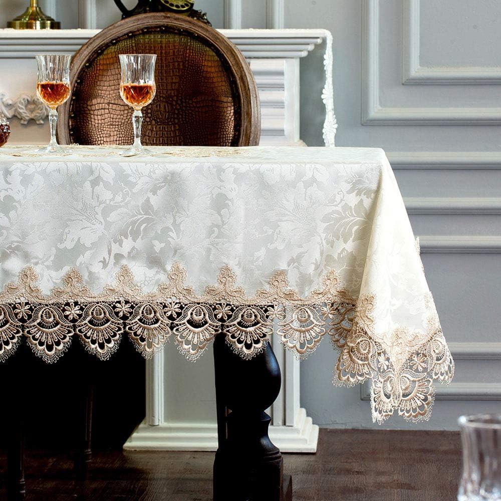 ARTABLE Lace Table Cloth mart Rectangle Fall Summer New color De Antique Flower
