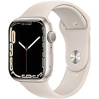 $429 » Apple Watch Series7 GPS, 45mm Starlight Aluminum Case with Starlight Sport Band - Regular