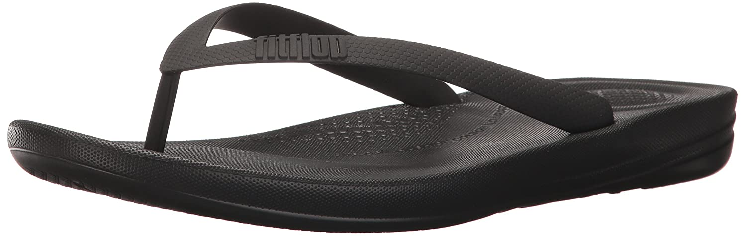 Mens Iqushion Ergonomic Flip-Flops Open Toe Sandals FitFlop