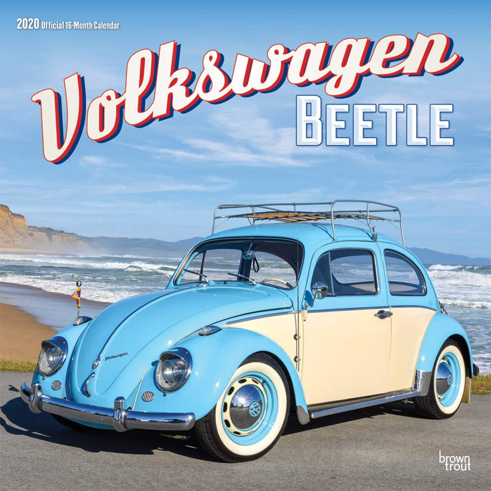 Calendrier Fun Car 2020.Volkswagen Beetle 2020 12 X 12 Inch Monthly Square Wall