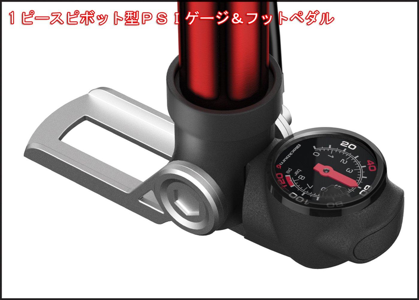 Blackburn Wayside Hybrid Pump, color negro: Amazon.es: Deportes y aire libre