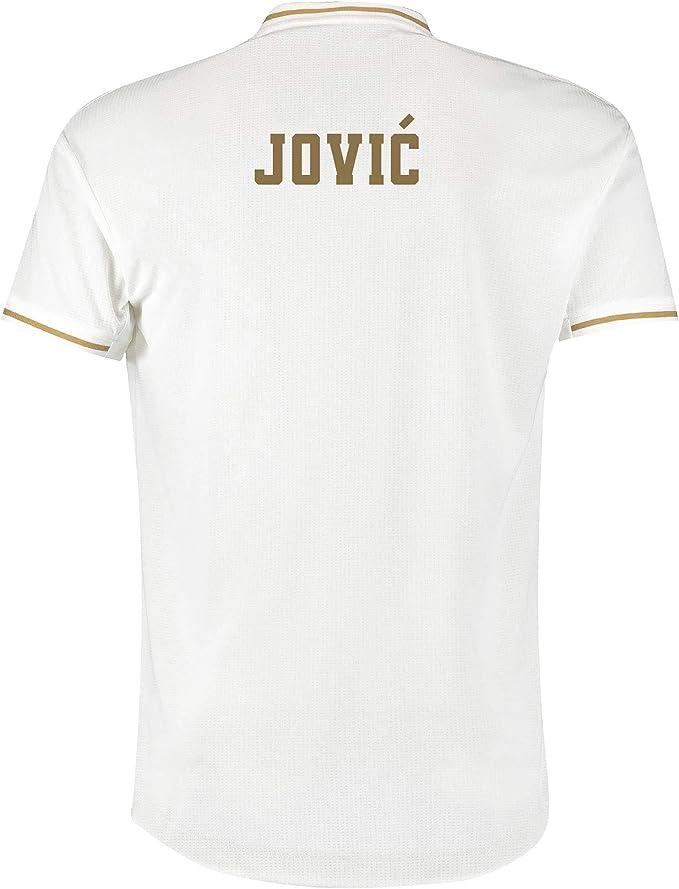 Camiseta de la 1ª equipación del Real Madrid 2019-20 Dorsal Jović ...