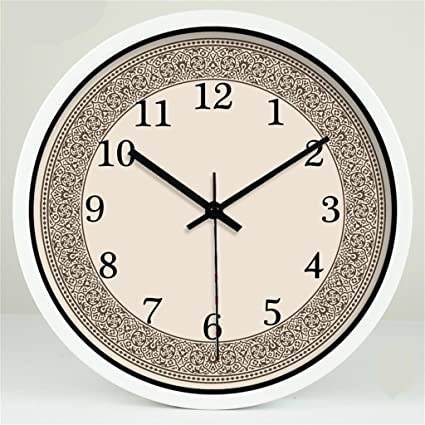 Hermoso reloj de pared de moda Estilo Europeo Retro Arte Creativo Salón Decoración Dormitorio Reloj De