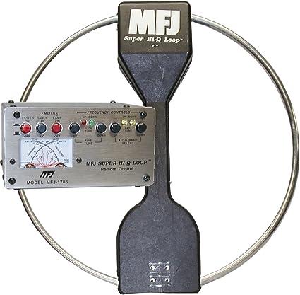 mfj-1786 X Antena de lazo magnética