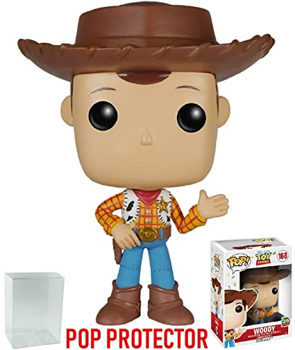 Amazon Com Funko Pop Disney Pixar Toy Story Woody 20th