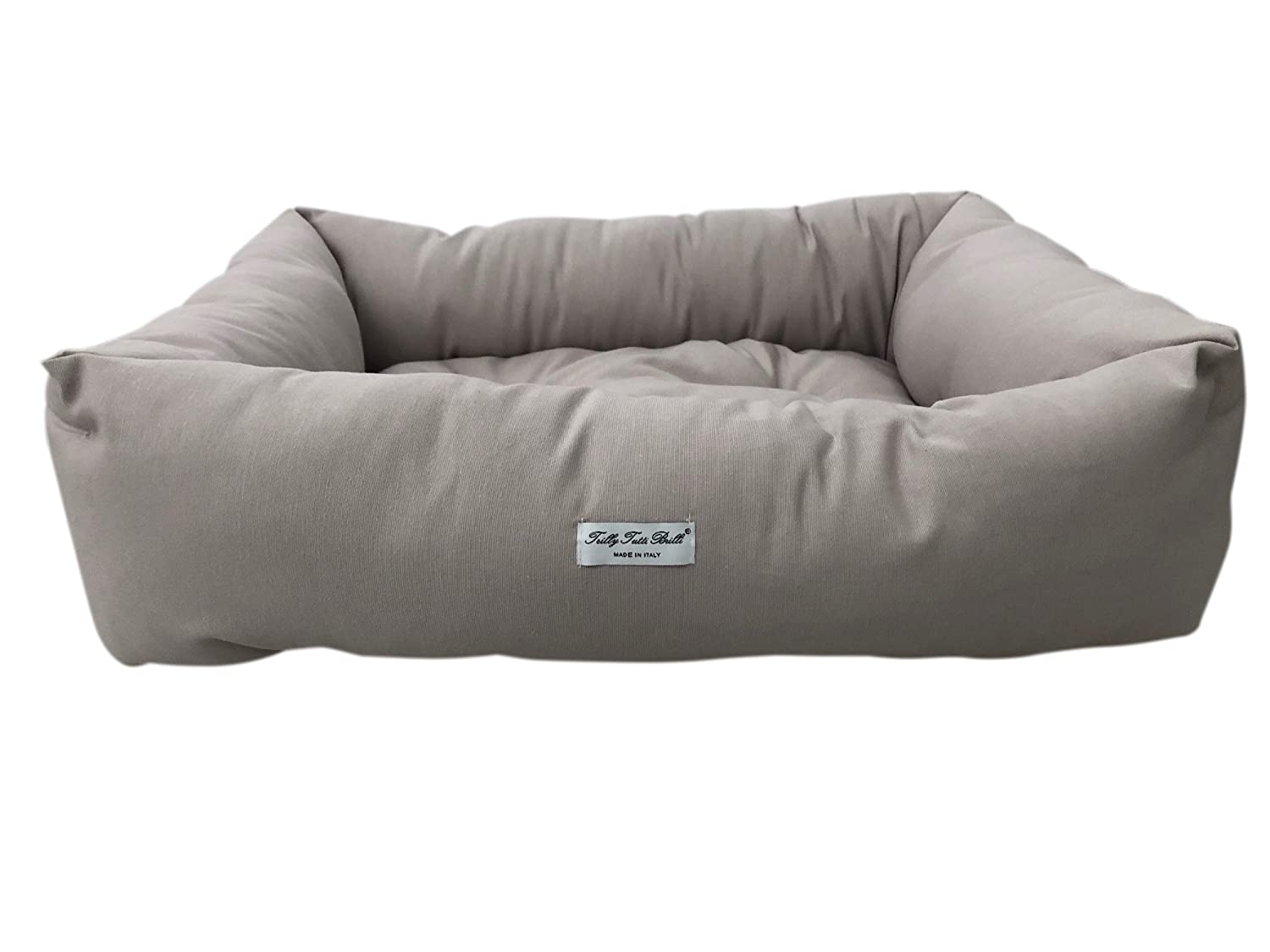 Trilly tutti Brilli Akane Dog's Bed, Light Grey, Number 70