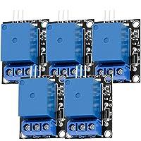 AZDelivery 5 x 1-przekaźnik 5V KY-019 moduł wyzwalacza wysokiego poziomu, kompatybilny z Arduino i Raspberry Pi wraz z e…