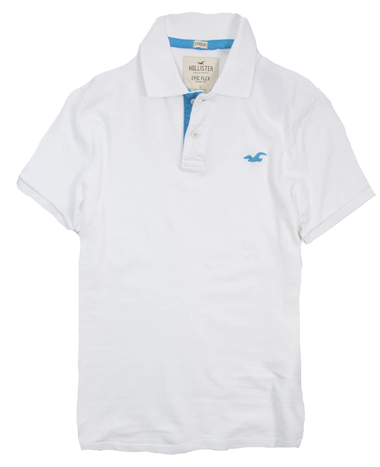c8d9c46e3 Hollister Men's Polo Shirt T Shirt at Amazon Men's Clothing store: