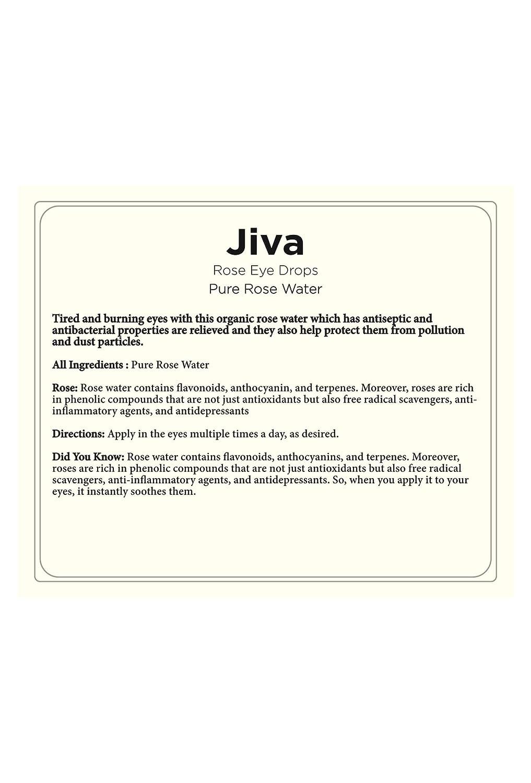 Tjori Jiva-Rose Water Eye Drop-20ml