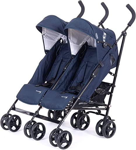 Knorr-baby 832200/Carrito Side by side Navy Blue