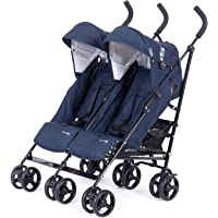 Knorr-baby 832200Carrito Side by side, Navy Blue