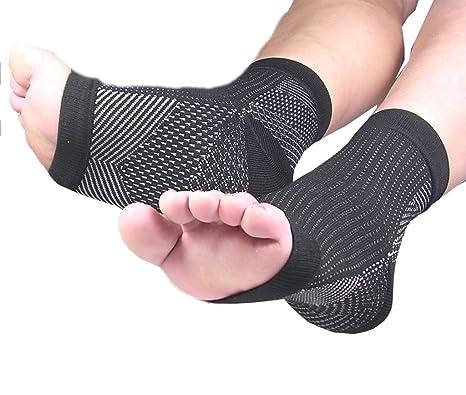 PicuMed FERSENSPORN Bandage Kompressionssocken Fußbandage bei Plantarfasziitis zur Schmerzlinderung bei Knöchelschmerz Schwel