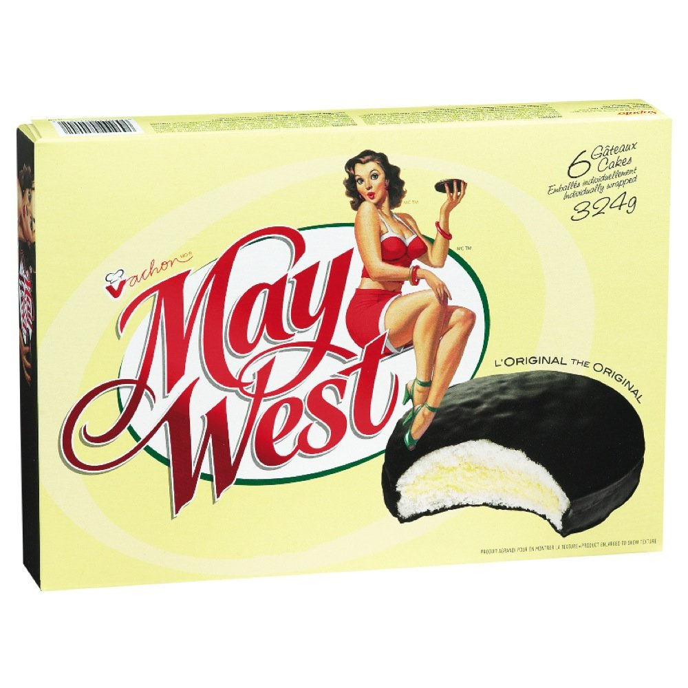 (10 Box) 6 Cakes Vachon the Original May West Cakes by VACHON (Image #2)