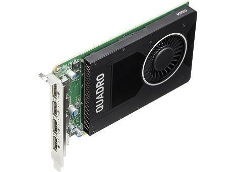 HP - Tarjeta gráfica (Quadro M2000, 4 GB, GDDR5, 128 bit, 1920 x 1080 Pixeles, PCI Express x16 3.0)
