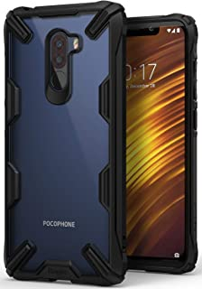 new concept 3827c efee2 DMG Back Cover for Poco F1, Shockproof Rugged Hybrid: Amazon.in ...