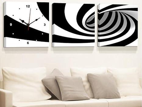 Orologi Da Parete In Tela : Lfgao orologio da parete scenico moderno della parete di tela di