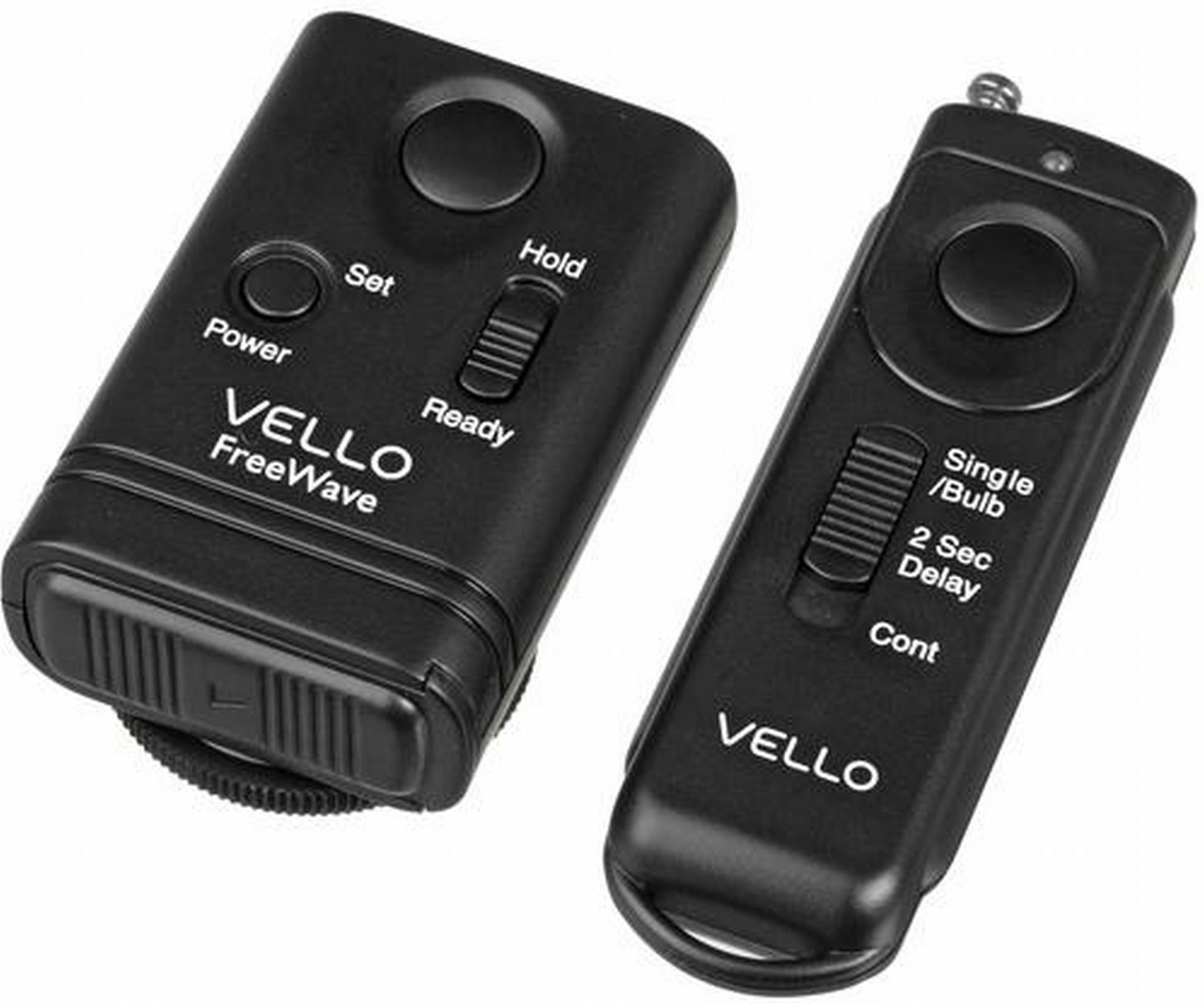Vello FreeWave Wireless Remote Shutter Release for Canon with 3-Pin Connection