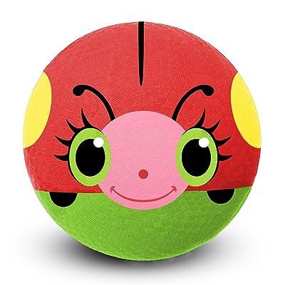 Melissa & Doug Sunny Patch Bollie Ladybug Classic Rubber Kickball: Melissa & Doug: Toys & Games [5Bkhe2006867]