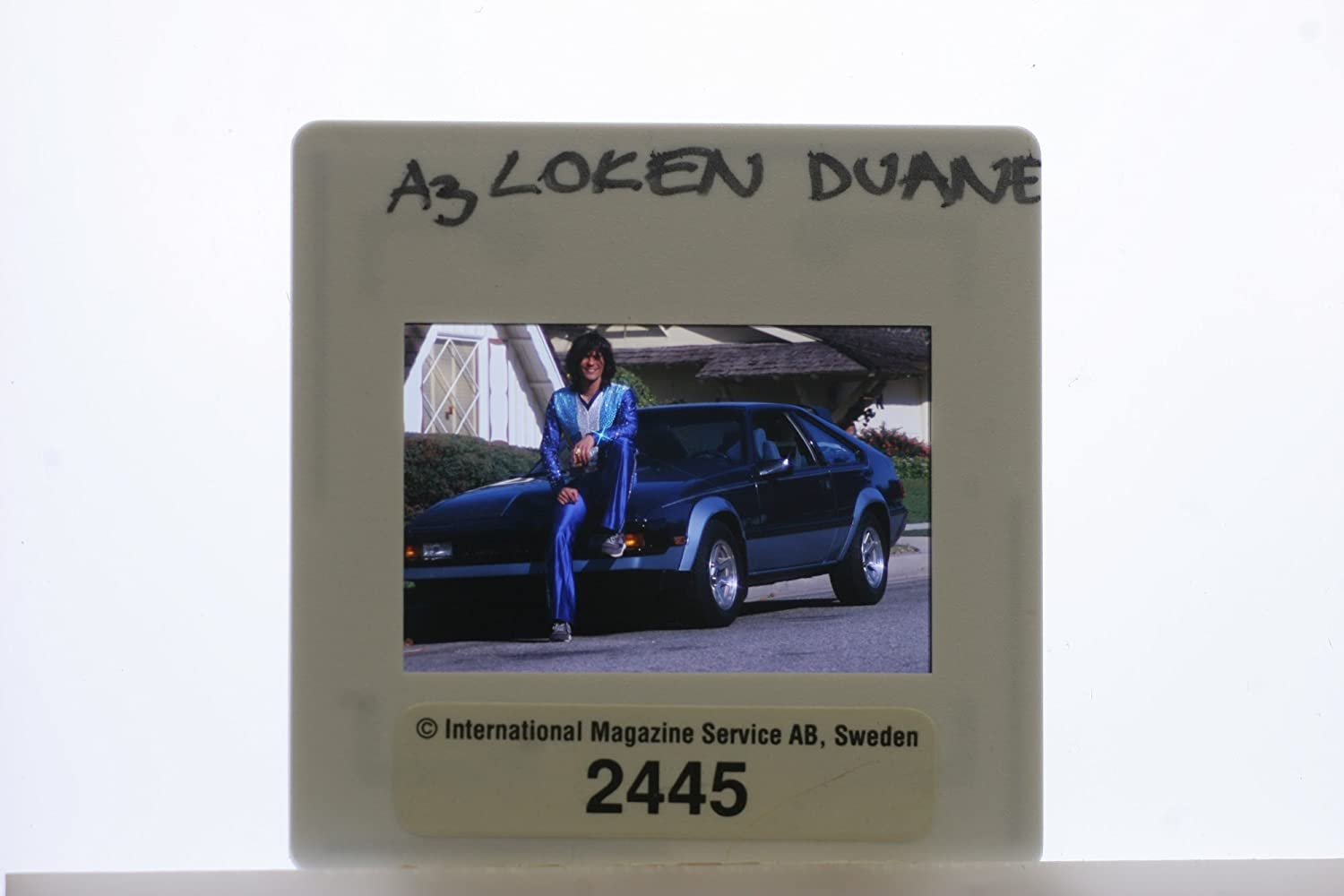Amazon.com: Slides photo of Duane Loken is an American actress and pop entertainers: Entertainment Collectibles