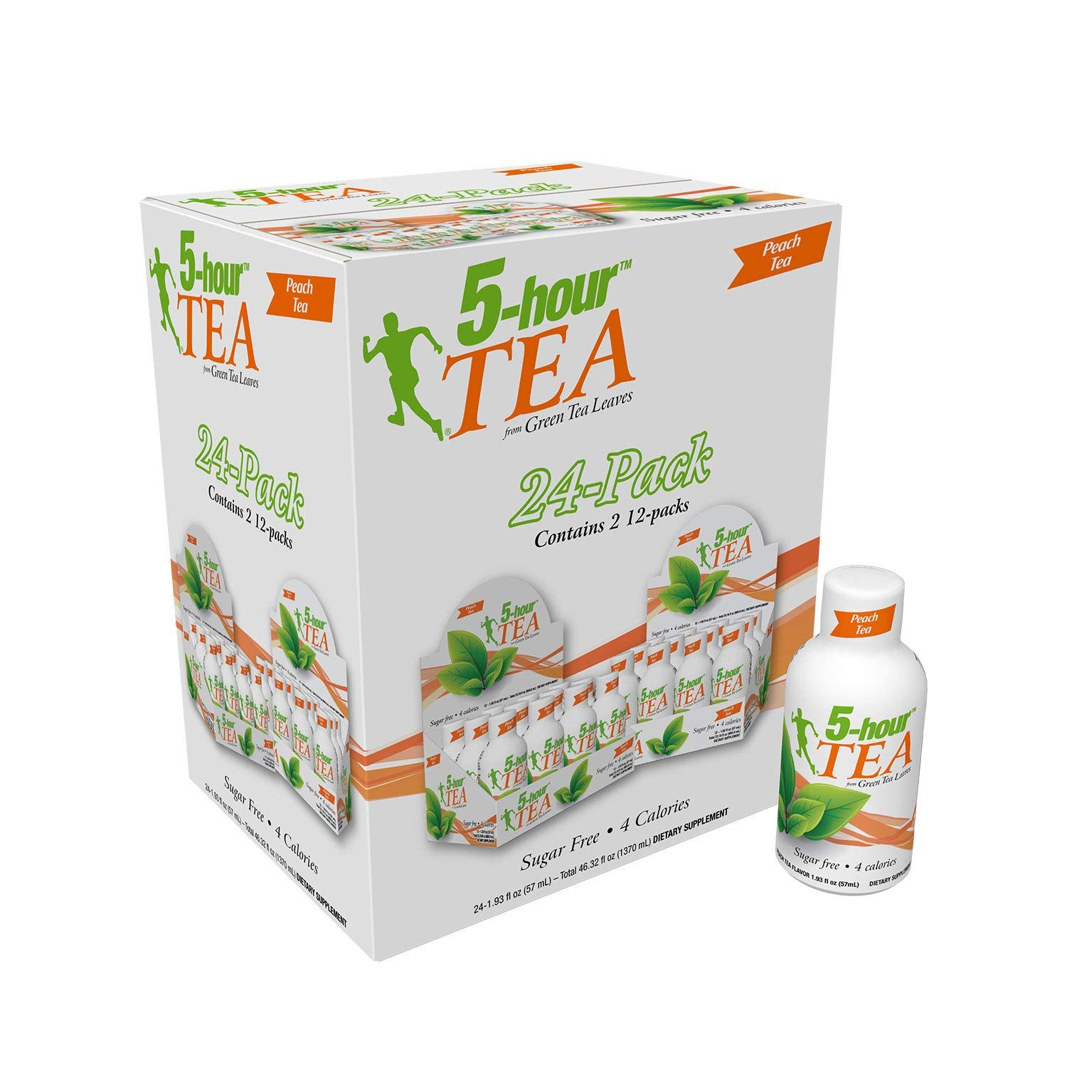 5-hour Green TEA - Peach Flavored - 24 Count by 5-Hours (Image #1)